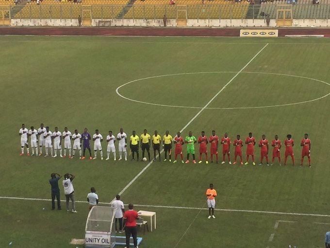 Black Stars down Kotoko 3-0 in friendly